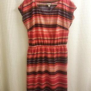 Colorful sun dress